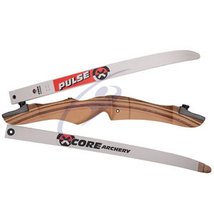 "Core Wooden Recurve Takedown Bow - 48"" to 70"""