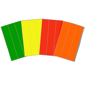 Clickers Archery Fluorescent Wooden Arrow Wraps