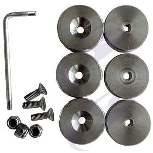 Gillo Stainless Steel Weight Kit - G01-DK6
