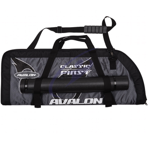 Avalon Classic First Recurve Bag With Arrow Tube - Grey